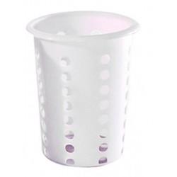 Cutlery Holder Cylinder 114mm Round Plastic