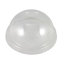 Capri PET Dome Lid Small Clear (1000)