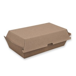 Kraft Snack Box Large 205 x 107 x 77mm Alfresco (200)
