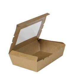 Lunch Box Medium with Window  150 x 100 x 45mm (200)