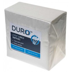 Caprice Duro 2ply White Lunch Napkin 300 x 300mm (2000)