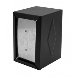"Napkin Dispenser 130x95x115mm ""D"" Fold Black"