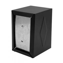 """Napkin Dispenser 160x100x125mm """"E"""" Fold Black"""