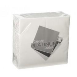 Caprice Platinum White Airlaid Dinner Napkin GT Fold (500)