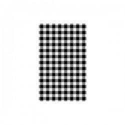 Moda Greaseproof Paper Gingham Black 190 x 310mm (200)