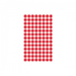 Moda Greaseproof Paper Gingham Red 190 x 310mm (200)