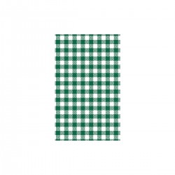 Moda Greaseproof Paper Gingham Green 190 x 310mm (200/10)