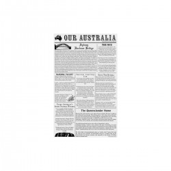 Moda Greaseproof Paper Newsprint 310 x 190mm (200)