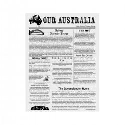 Moda Greaseproof Paper Newsprint 310 x 380mm (200)