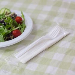 Capri Cutlery Combo Pack Fork / Knife / Napkin (500)