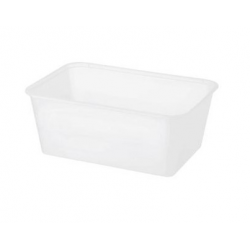 Chanrol 500ml Freezer Grade Rectangular Plastic Container (500)