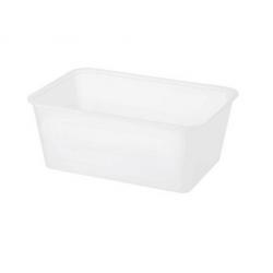 Chanrol 1000ml Freezer Grade Rectangular Plastic Container (500)