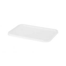 Chanrol Freezer Grade Rectangular Plastic Lid (500)