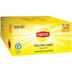Lipton Yellow Label Caterers Tea Bag Enveloped (1200)