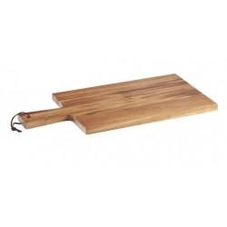 Paddle Board 400 x 200mm Rectangular Acacia Wood Moda