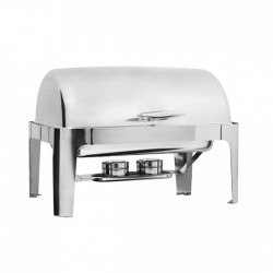 Deluxe Rectangular Roll Top Chafer Full Size