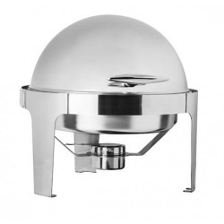 Deluxe Round Roll Top Chafer