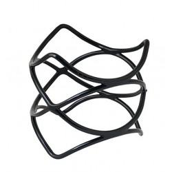 Spiral Riser Non Slip 200 x 200mm Black (6)
