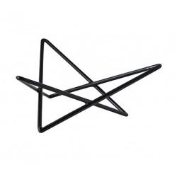 Star Riser Non Slip 260 x 230 x 100mm Black (6)