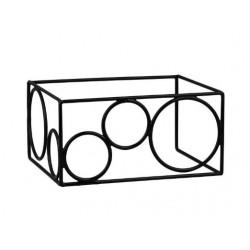 Rectangular Riser Non Slip 315 x 170 x 160mm Black (6)