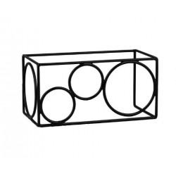 Rectangular Riser Non Slip 315 x 255 x 160mm Black (6)