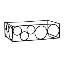 Rectangular Riser Non Slip 515 x 310 x 160mm Black (6)