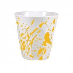 JAB 300ml Gelato Splash Tumbler Yellow / White (12)