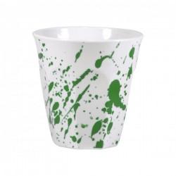 JAB 300ml Gelato Splash Tumbler Green / White (12)