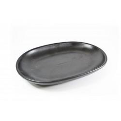 Serving Platter 305 x 210mm Black Tablekraft (3)