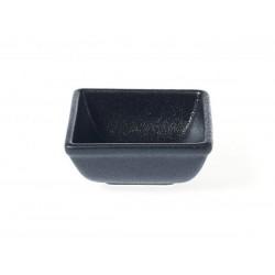 Square Sauce Dish 80 x 80 x 35mm Black Tablekraft (12)