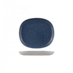 Oval Coupe Plate 200 x 175mm Ora Forio Sango (6)