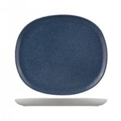 Oval Coupe Plate 285 x 250mm Ora Forio Sango (6)