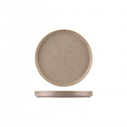 Low Stackable Plate 200 x 23mm Ora Avola Sango (6)