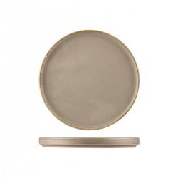 Low Stackable Plate 260 x 25mm Ora Avola Sango (6)
