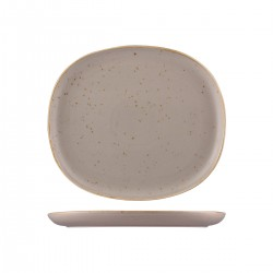 Oval Coupe Plate 285 x 250mm Ora Avola Sango (6)