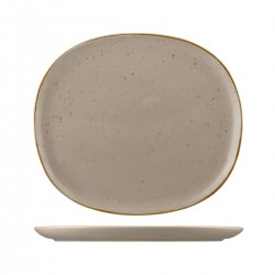 Oval Coupe Plate 335 x 295mm Ora Avola Sango (4)