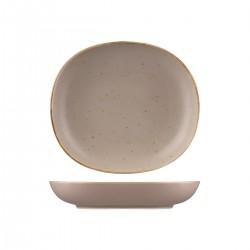 Oval Flat Bowl 1270ml / 260 x 230mm Ora Avola Sango (6)