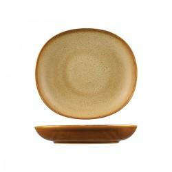 Oval Flat Bowl 1270ml / 260 x 230mm Ora Arica Sango (6)