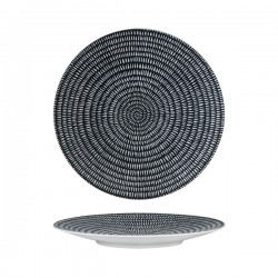 Round Coupe Plate 270mm Storm Luzerne Zen (6)
