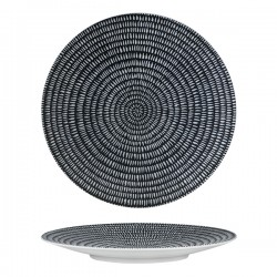 Round Coupe Plate 310mm Storm Luzerne Zen (6)