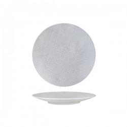 Round Coupe Plate 205mm Grey Web Luzerne Zen (6)