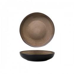 Luzerne 1200ml Bowl / Plate 230mm Rustic Chestnut (4)