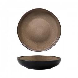 Luzerne 1870ml Bowl / Plate 260mm Rustic Chestnut (4)