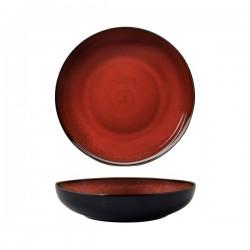 Luzerne 1870ml Bowl / Plate 260mm Rustic Crimson (4)