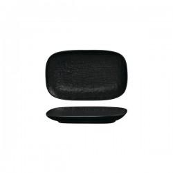 Luzerne Linen 215 x 135mm Oblong Share Plate Black (6)