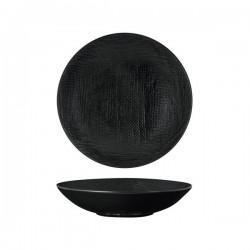 Luzerne Linen 230mm Share Bowl 1100ml Black (4)