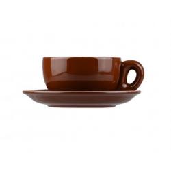 Longfine 280ml Classicware Brown Megaccino Cup (12)
