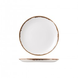 Round Coupe Plate 217mm Harvest Natural Dudson (12)