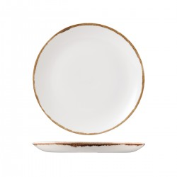 Round Coupe Plate 260mm Harvest Natural Dudson (12)