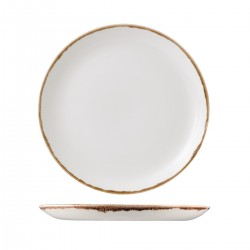 Round Coupe Plate 288mm Harvest Natural Dudson (12)